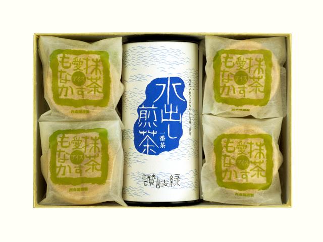 水出し煎茶/抹茶愛す最中