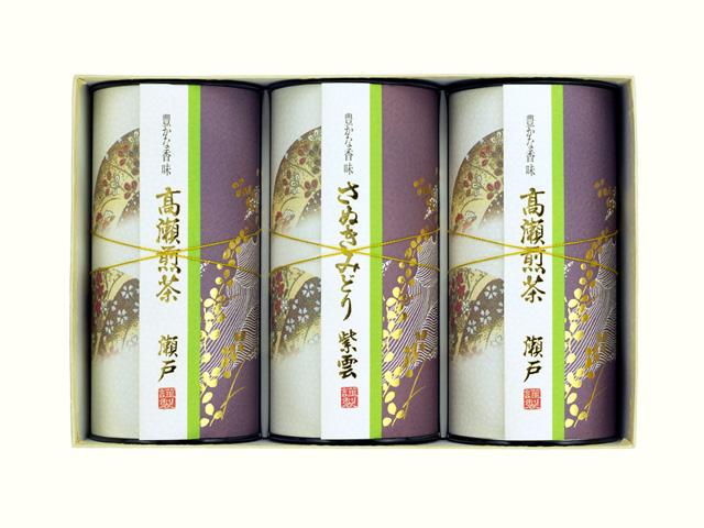 高瀬煎茶 瀬戸/讃岐みどり 紫雲